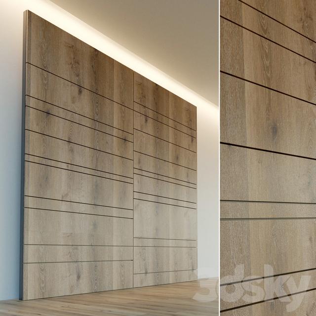 Wall panel made of wood. Decorative wall. 27
