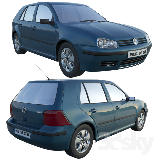 Volkswagen VW Golf MK4