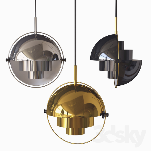 Multi-Lite Pendant Light gubi