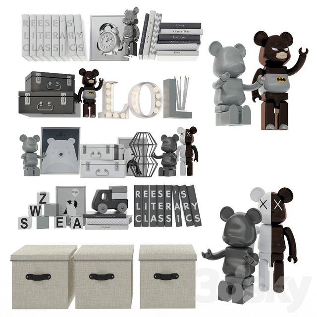 Decorative set for children 8