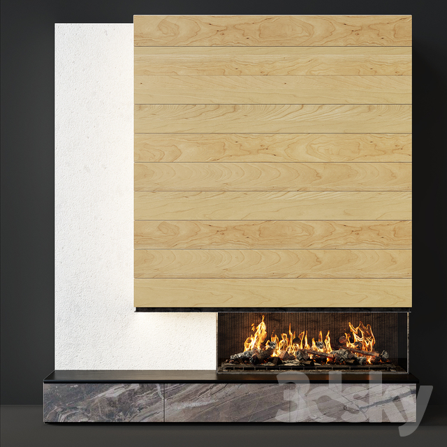 Contemporary fireplace 19