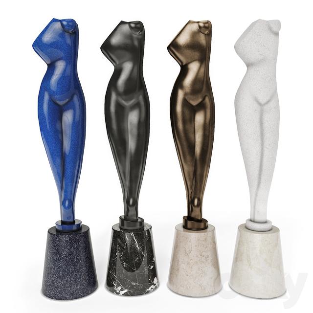 Archipenko Alexander Torso Sculpture