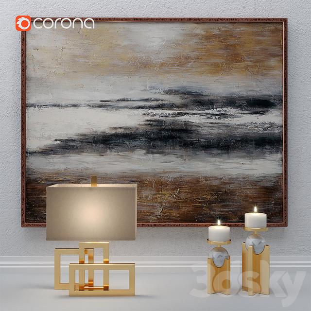 Art decor set