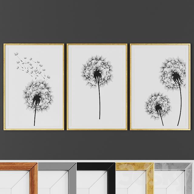 Picture frame set 00017-1