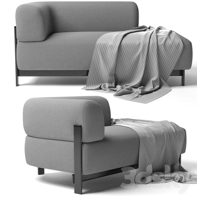 2-seater sofa ELEPHANT