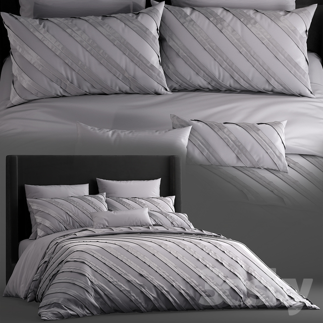 Bed Remington 3 Piece Duvet Cover set