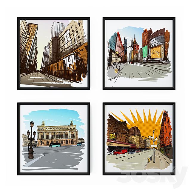 City drawings 1