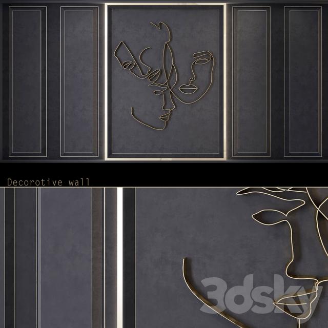 Waves - Metal wall panel _WL25