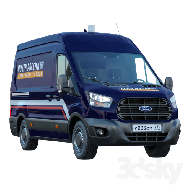 Ford Transit Russian Courier Service
