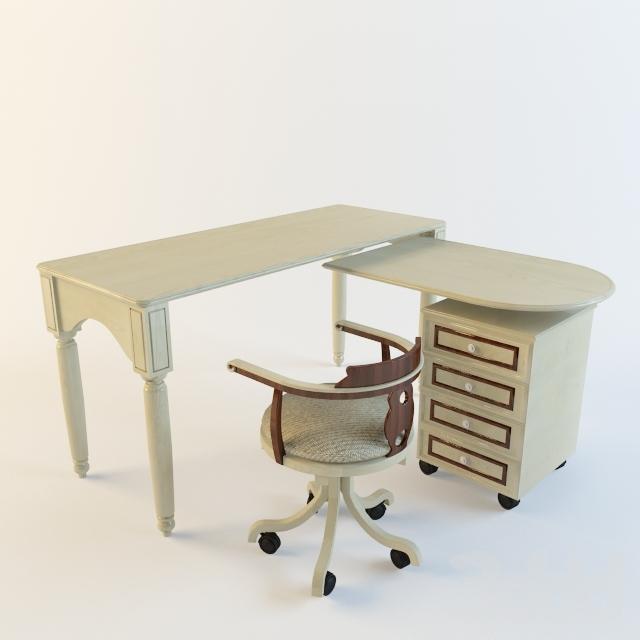 Стол и стул в детскую