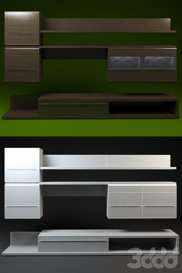 Дятьково. Комплект мебели для гостиной EGO.