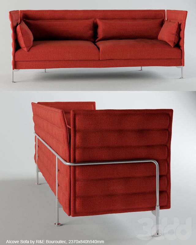 3d Modeli Divany Alcove Sofa