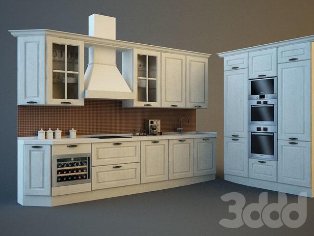 3d модели: Кухни - Veneta Cucine / Memory