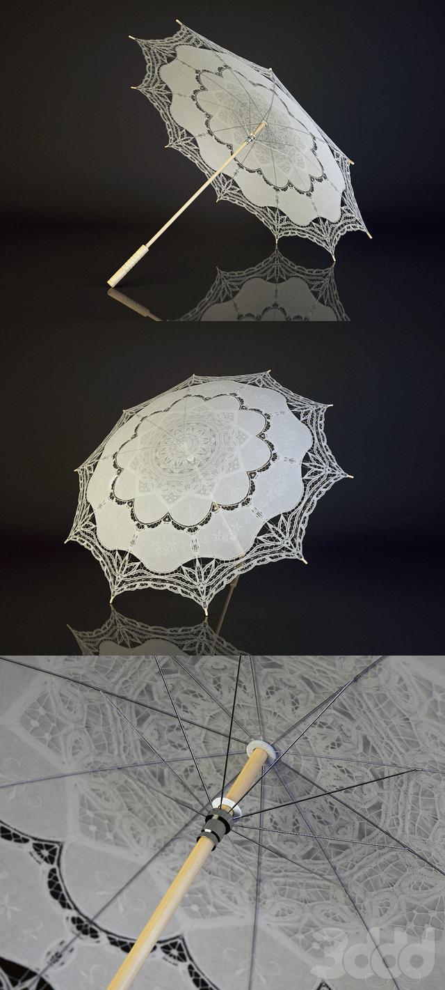 Ажурный зонт. Lace Umbrella