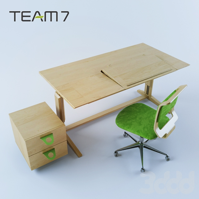 3d team7 lanoo. Black Bedroom Furniture Sets. Home Design Ideas