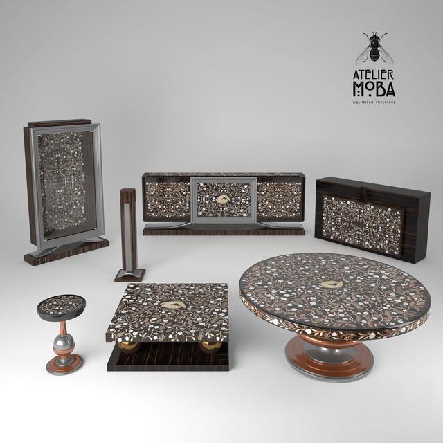Celine furniture set by Atelier MO.BA