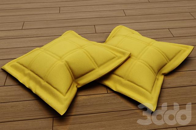 кожаные подушки