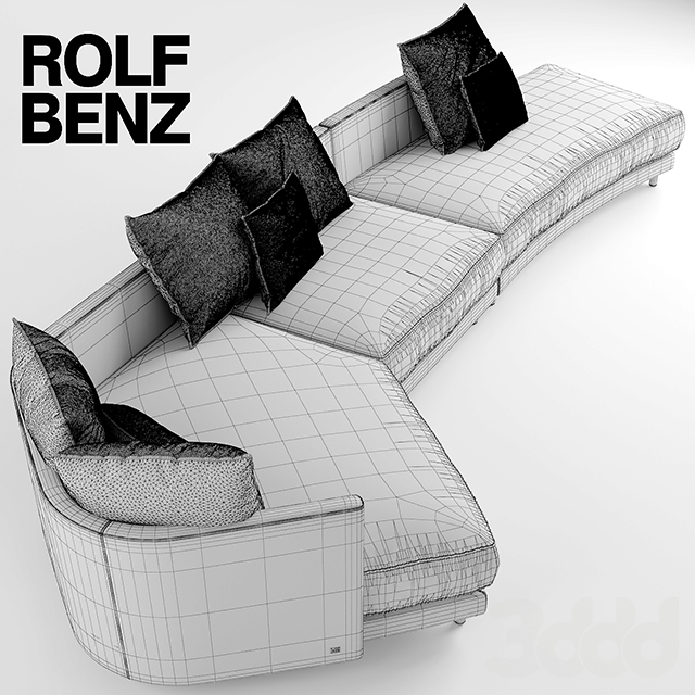 3d rolf benz onda for Rolf benz onda abverkauf