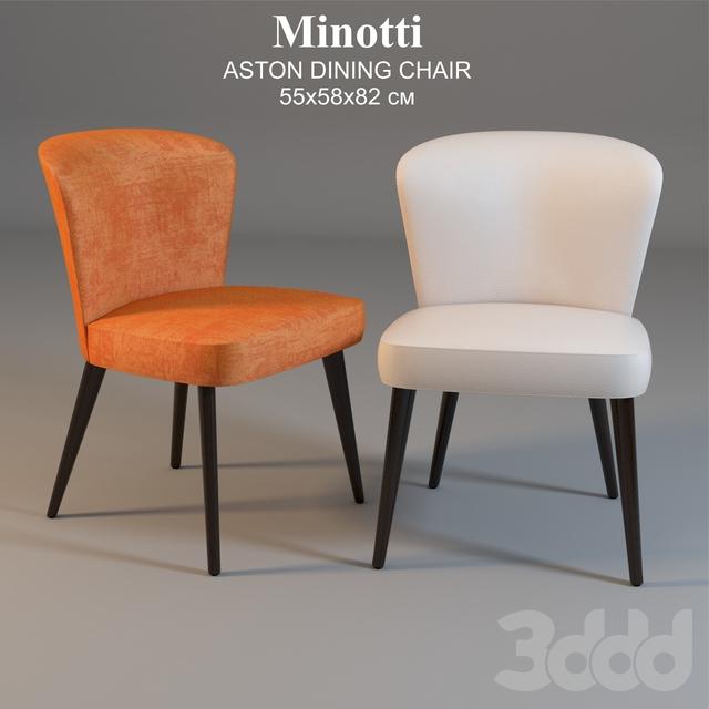 Minotti ASTON DINING CHAIR 55x58x82