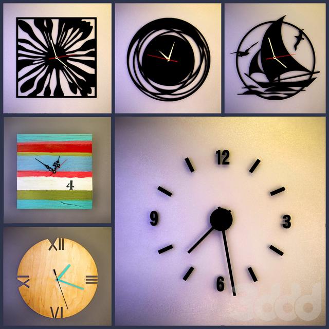 Настенные часы (сборник № 7)