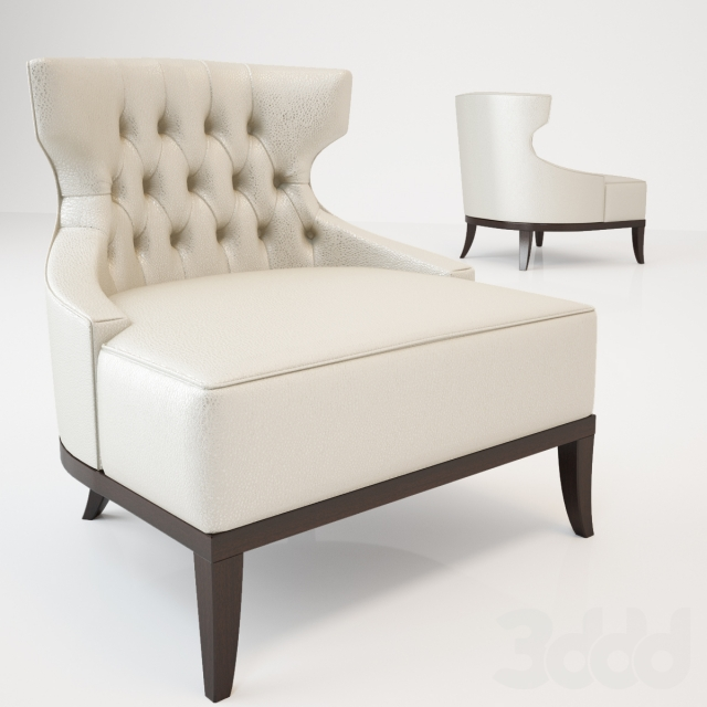 Munna MONSIEUR T_TUFTED BACK LOUNGE CHAIR