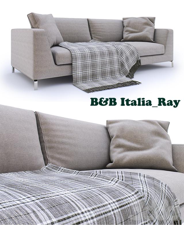 3d b b italia sofa ray. Black Bedroom Furniture Sets. Home Design Ideas