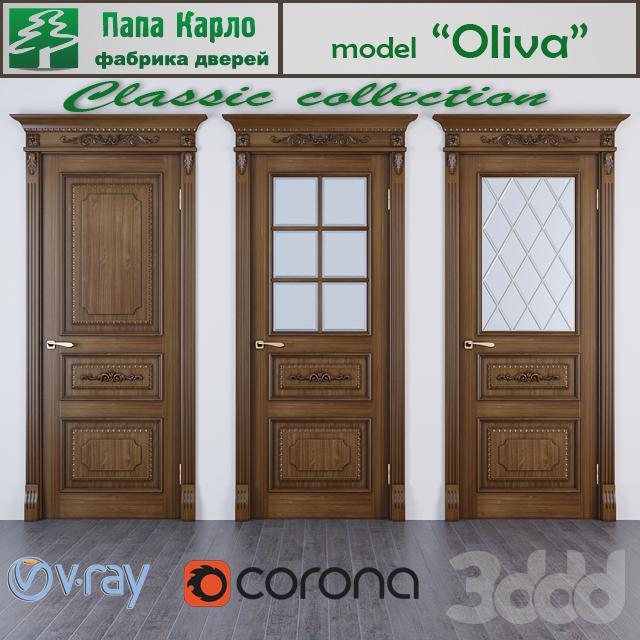 Дверь Oliva (серия Classic)