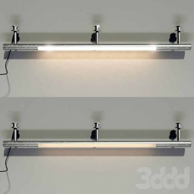 3d модели: другие предметы интерьера - вешало с подсветкой.