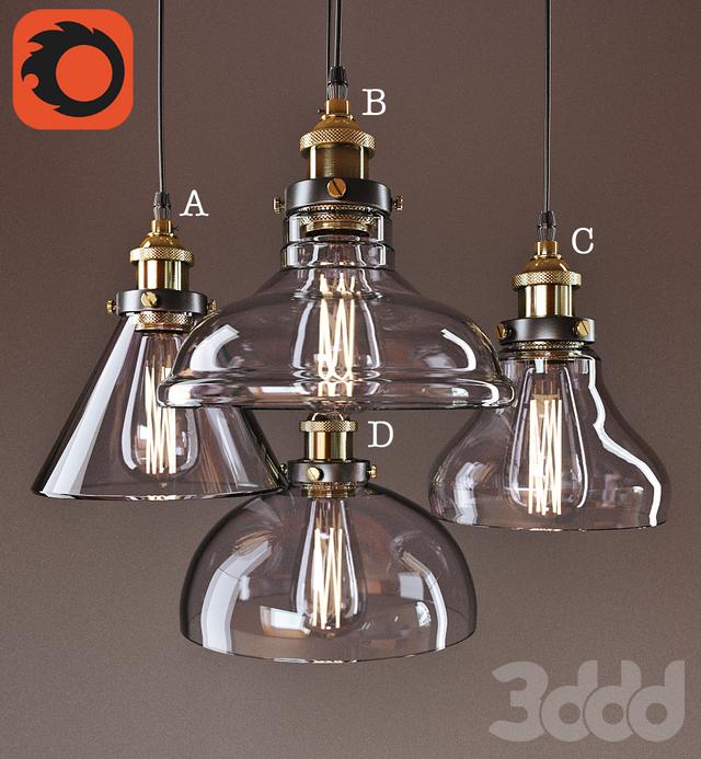 Американские старинные подвесные светильники