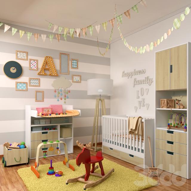 Декоративный набор для детской №3