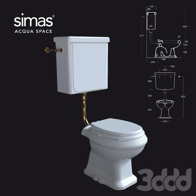 Унитаз simas AR_801-AR_812 ОМ