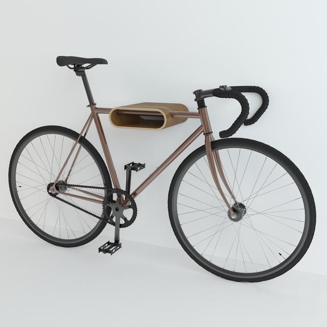 Велосипед Fuji classik настенное крепление Very Nice Bike Rack.