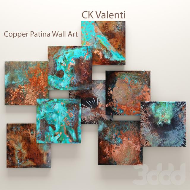 Copper Patina Wall Art