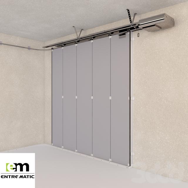 3d hormann porte sectionnelle laterale om. Black Bedroom Furniture Sets. Home Design Ideas