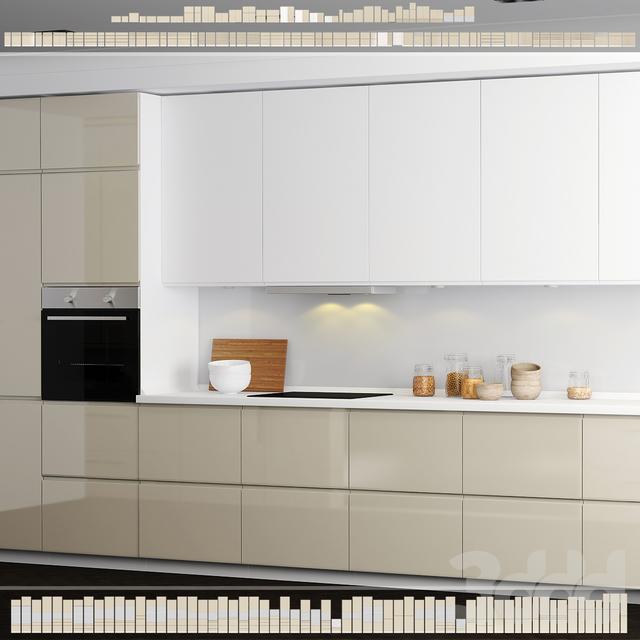 Кухня IKEA Метод/Воксторп.