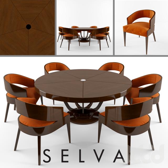 Мод на столы и стулья