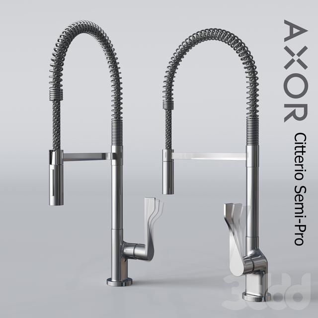 Axor Citterio Однорычажный Кухня Semi-Pro