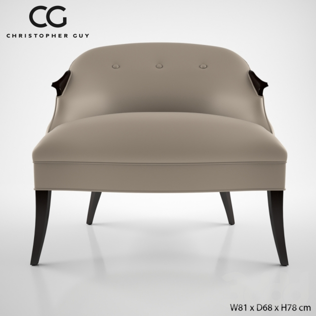 3d модели Кресла Christopher Guy Annete Chair 60 0367