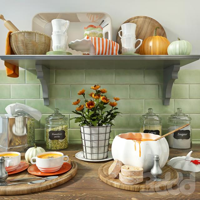 Набор кухонного декора