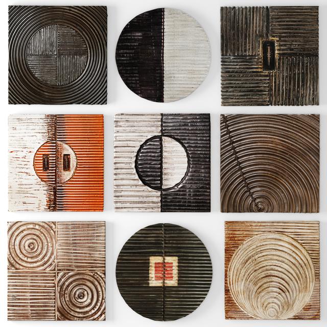 Wood Wall Sculpture by Kipley Meyer