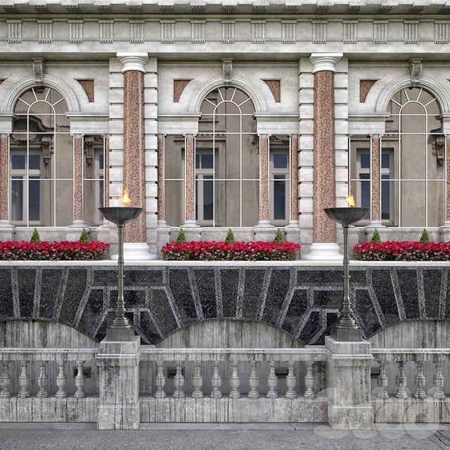 Фасад здания Fleet Street Historical Building London