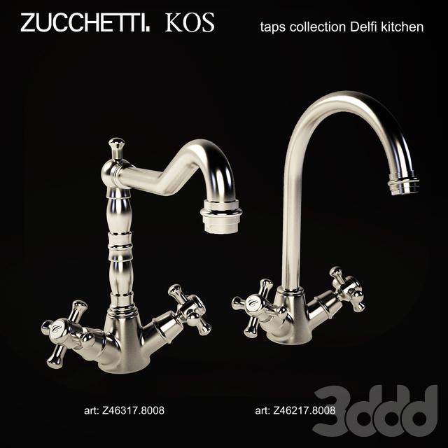 Zucchetti. KOS kitchen taps collection Delfi