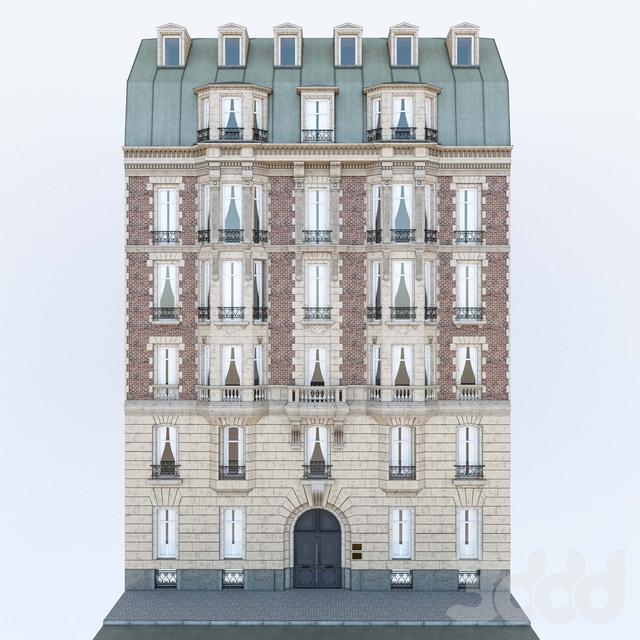 Фасад французского здания