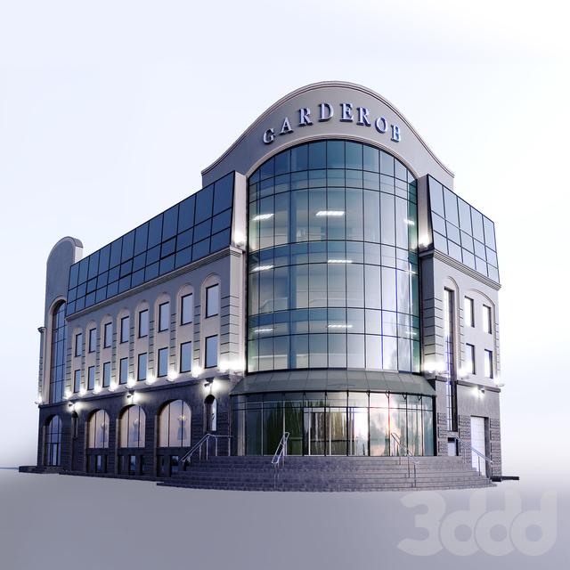 Фасад здания Garderob