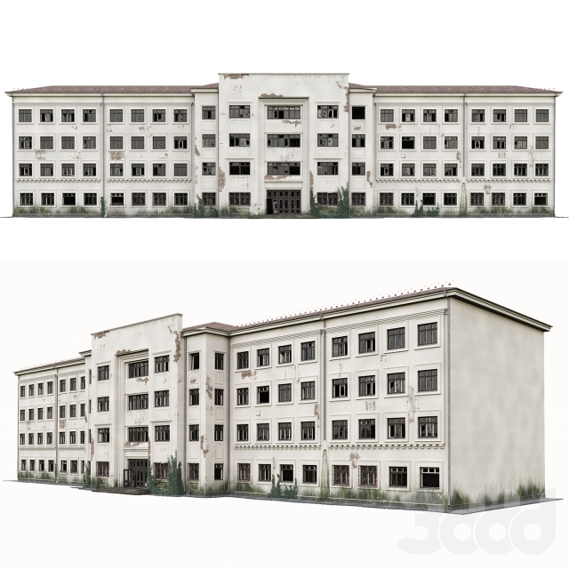 Заброшенная больница / abandoned hospital