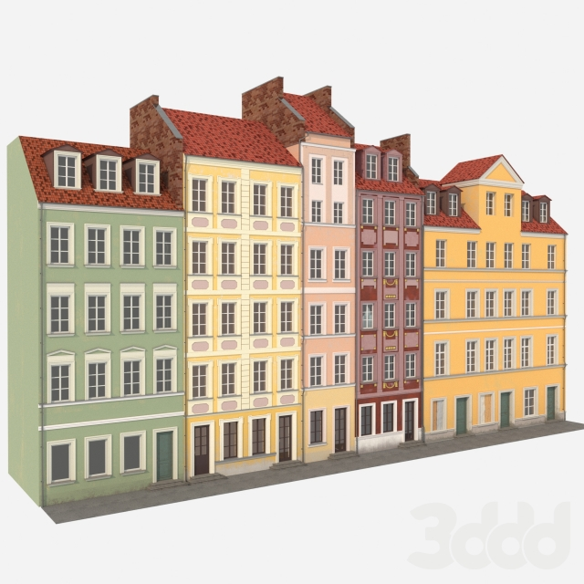 Фасады старых домов