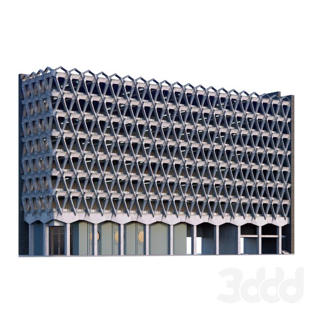 Фасад парковки