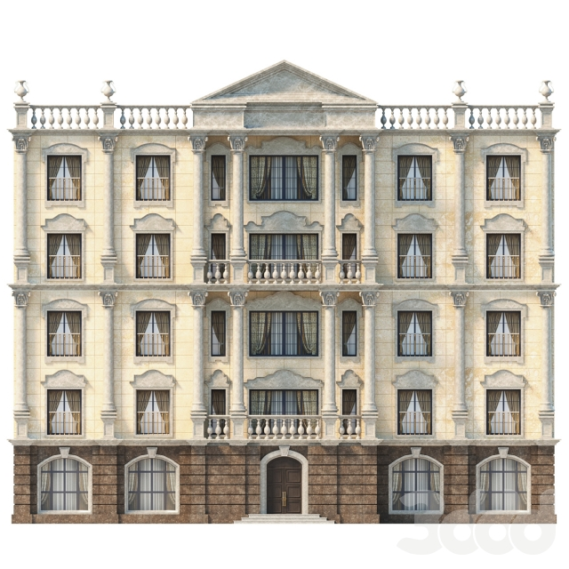 Фасад классический