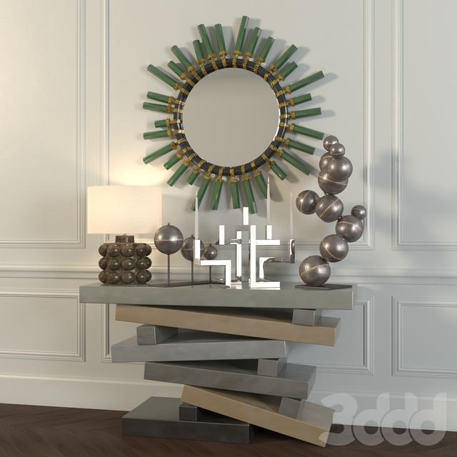 Декоративный набор в стиле Эклектики