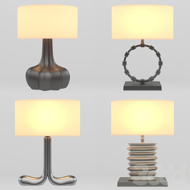 Сборник настольных ламп Hamilton Conte